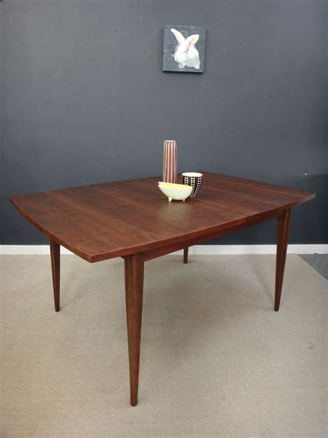 mid century broyhill saga dining table retrocraft design