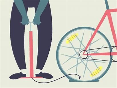 Tire Bike Gifs Biking Bicicleta Fiets Flat