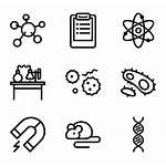 Laboratory Icons Icon Chemistry Packs Vector Equipment