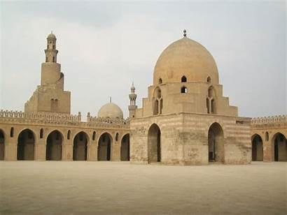 Mezquita Ibn Tulun Cairo Antigua Egipto Ecured