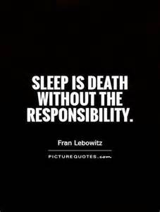 Quotes About Death and Sleep