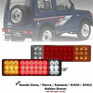 1 Set Left   Right 12v Led Rear Tail Light For Suzuki