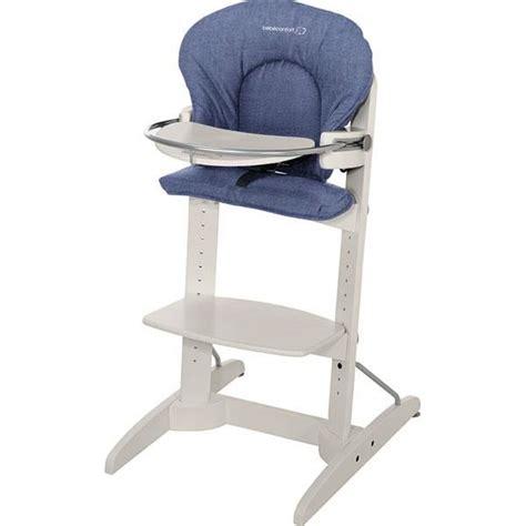 chaise évolutive bébé confort bebe confort chaise haute woodline denim bleu