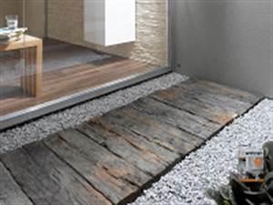 Bahnschwellen Beton Holzoptik : terassenplatten nature in bahnschwellenoptik diese platten ~ Sanjose-hotels-ca.com Haus und Dekorationen