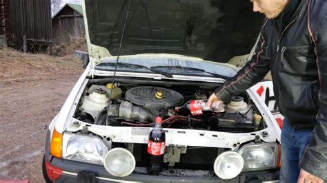 Cola Als Motoroel coca cola statt motor 246 l