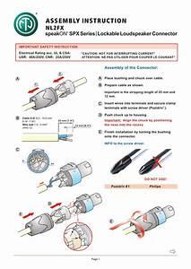 Speaker Cable Speakon Wiring Diagram Pdf