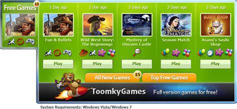 gadget de bureau gratuit gadget de toomkygames jouez à des jeux en version