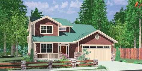 traditional two house plans 40 ft wide narrow lot house plan w master on the floor