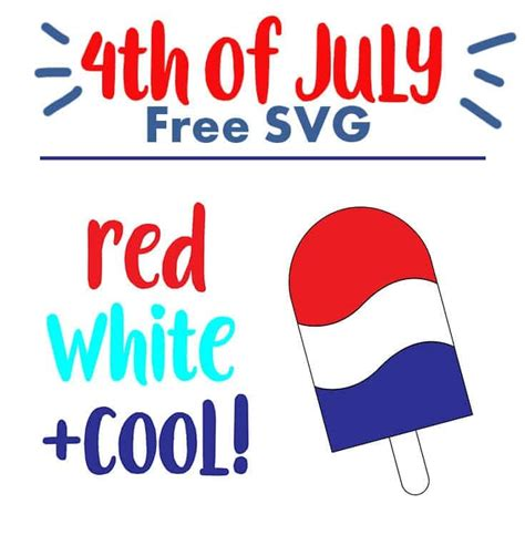 Ready to ship in 1 business day. Free Fourth of July SVG Files | Coral + Co.