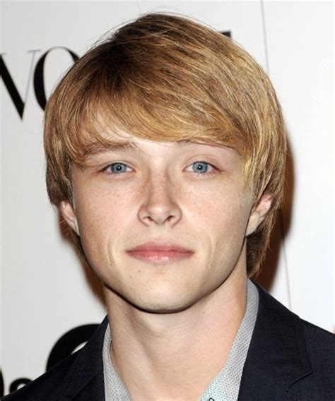 Sterling Knight Medium Straight Formal Hairstyle
