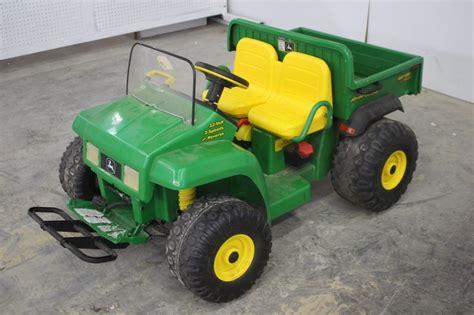 peg perego deere 12 volt electric 4x2 gator spencer sales