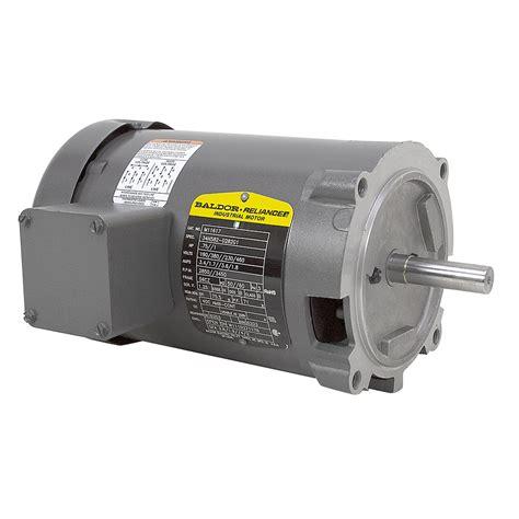 Baldor Electric Motors by 1 Hp 3450 Rpm 230 460 Volt Ac Baldor Electric Motor New