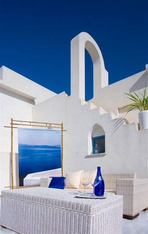 santorini   gorgeous sky blue  white