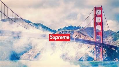 Supreme Desktop Wallpapers San Backgrounds Wallpaperaccess Francisco