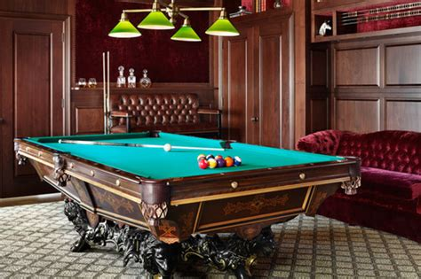 pool table room decor 15 homes with amazing pool tables that are anything but an