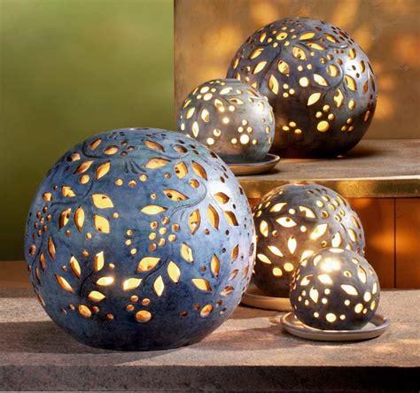 Bilder Ideen Für Draußen by Lichtkugeln Granit Stimmungsvolle Lichtkugeln Als