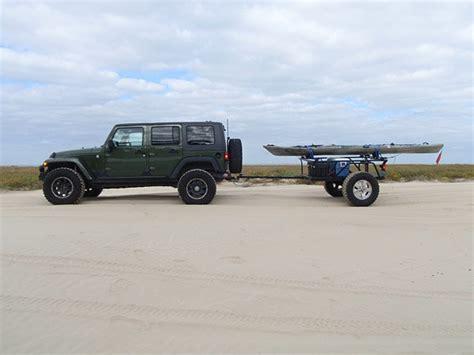 jeep kayak trailer jk with offroad yak trailer kayak trailers pinterest