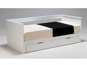 Ikea Lit 90x190 : banquette lit 1 ou 2 places pas ch re avec vente ~ Teatrodelosmanantiales.com Idées de Décoration