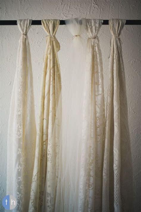 lace tulle altar backdrop wedding ideas pinterest