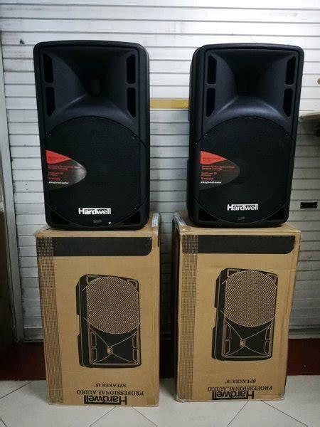 jual speaker aktif hardwell   model huper  lapak