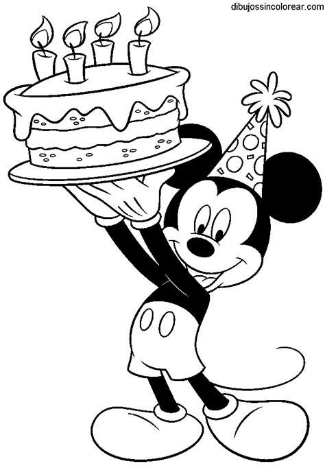 Dibujos de Mickey Mouse para Colorear
