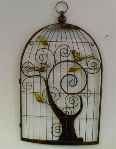 meijer home wall decor wanddecoratie vogelkooi wall sculpture wall decor