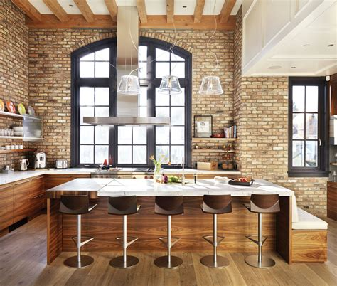 kitchen bricks design this kitchen brings a vibe to vancouver western 2334
