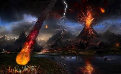 Volcano Animated Desktopanimated