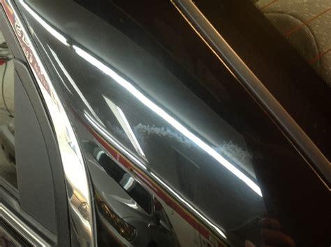 c pillar give auto shops visual against blending clearcoat paint repairer