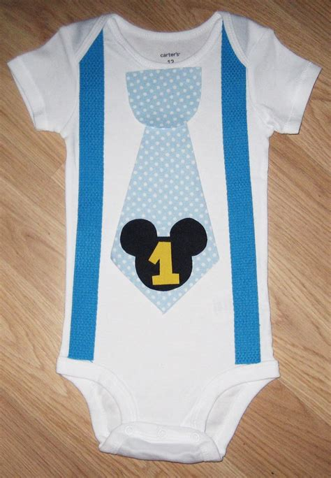 Baby Mickey Mouse 1st Birthday Outfit