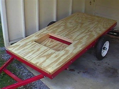 build   teardrop trailer   ground