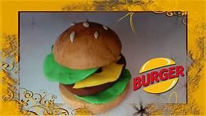 Plasticine Art - Burger