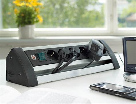 multipresa da tavolo multipresa da tavolo in alluminio 6 posti con interruttore