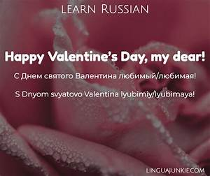 How to Say Happy Valentine's Day in Russian in 16 Ways