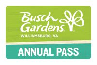 busch gardens annual pass buy tickets passes vacations busch gardens williamsburg