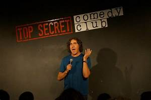 Micky Flanagan! - Picture of The Top Secret Comedy Club ...