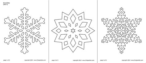 snowflake coloring pages  printable templates coloring pages firstpalettecom