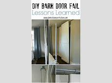 Double bypass sliding barn door system A DIY FAIL