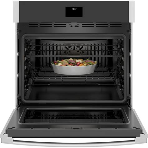 ge  built  convection single wall oven stainless steel jtssnss ge appliances