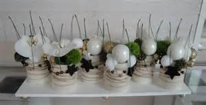 dã co de mariage décoration de noel centre de table
