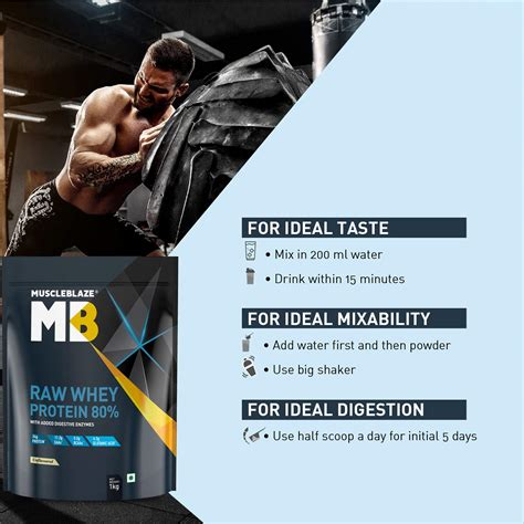 Muscleblaze Raw Whey Protein 1 Kg | Health Products Reviews