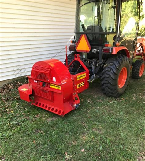 agrimetal bw 1600 tp tractor pto 3 point hitch blower