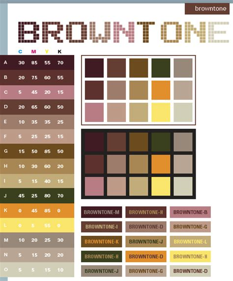 Chocolate Brown Color Palette  Wwwpixsharkcom Images