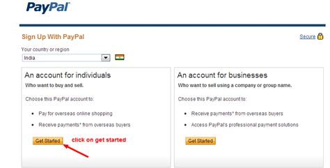 paypal sign up form paypal top10ptcsitesforyou