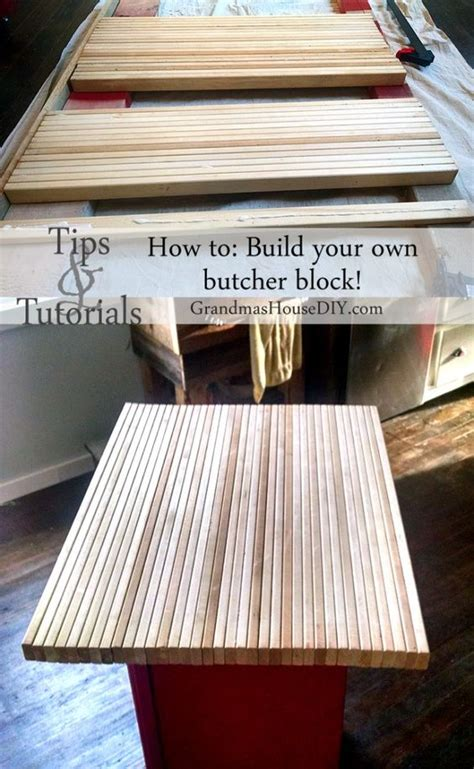 How To Build Your Own Butcher Block Diy For Your Island