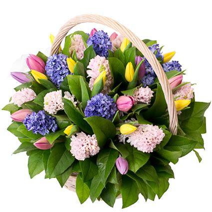 Ziedu piegāde   Ziedu kompozīcija: Pavasaris groziņā