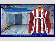 PES 2017 Atlético Kit by GStyle With New Logo HD 201617