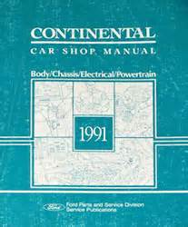 small engine repair training 1985 lincoln continental auto manual 1991 lincoln continental body chassis electrical powertrain shop manual