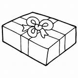Wrapped Gift Coloring Pages Surfnetkids sketch template