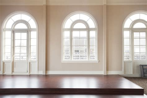 interior wall window immaculate white painted arched windows frames with cream wall color schemes also great brown